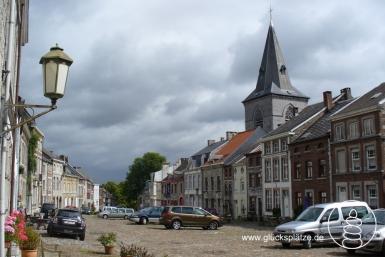 Das malerische Städtchen Limbourg an der Weser (Vesdre, Belgien)
